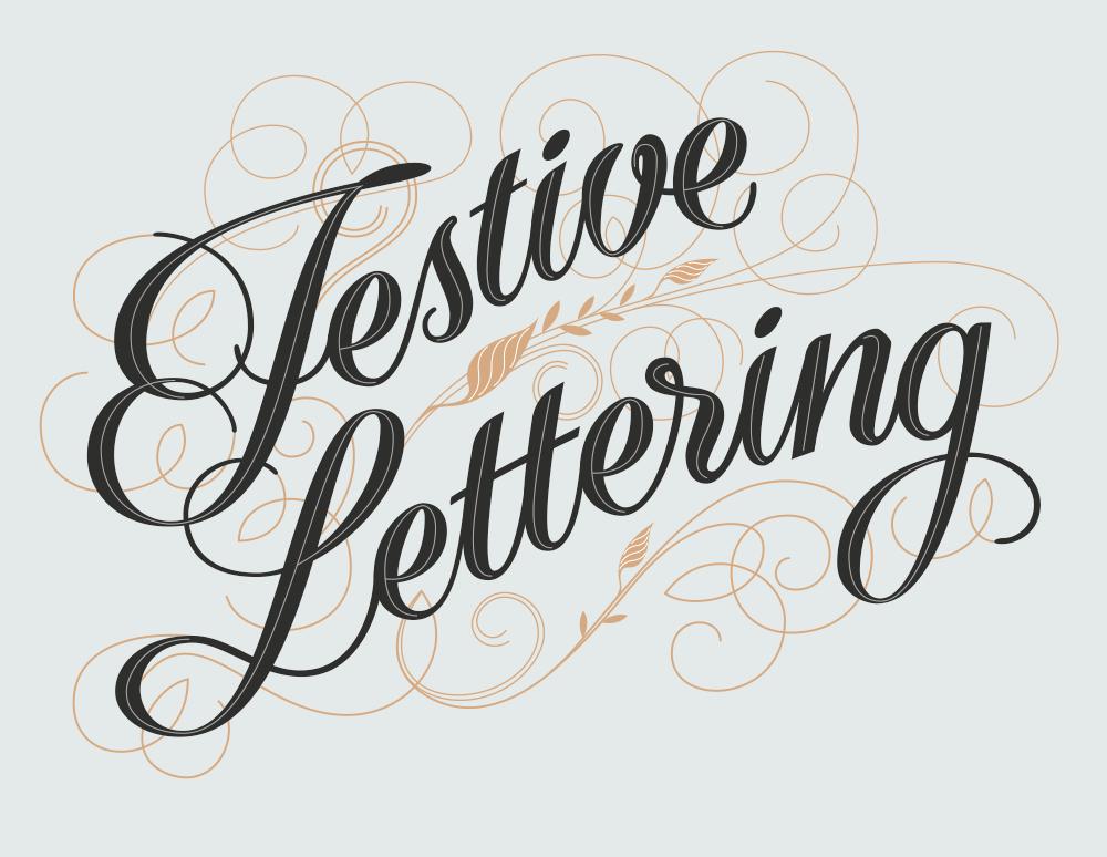Festive Lettering